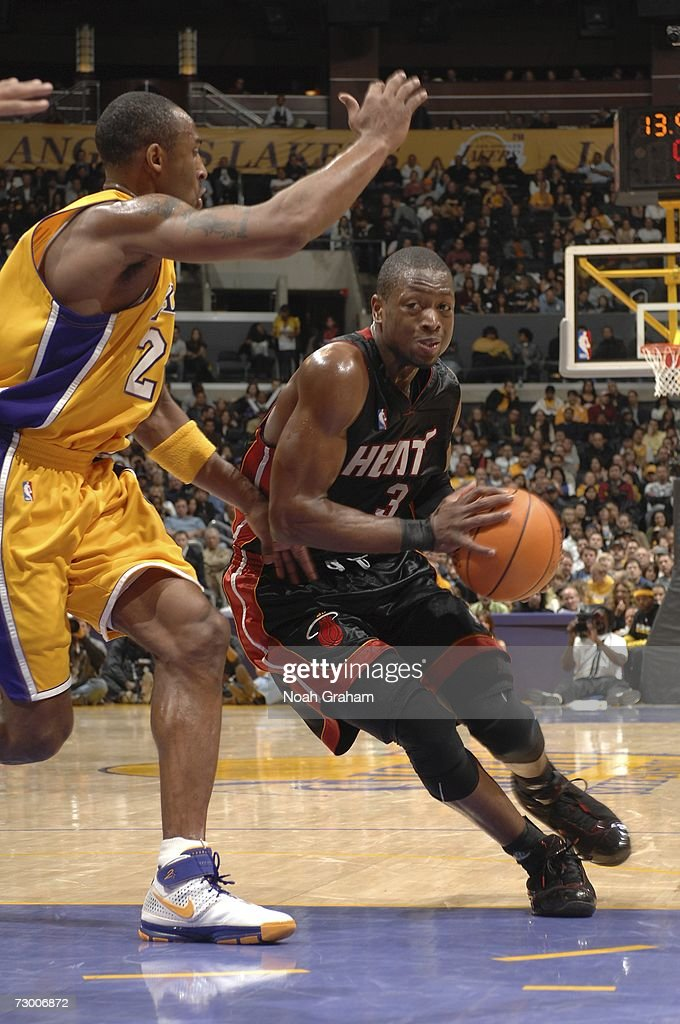 Miami Heat v Los Angeles Lakers : News Photo