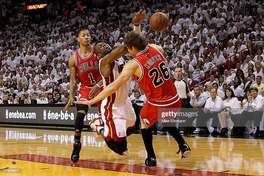 Chicago Bulls v Miami Heat - Game Three