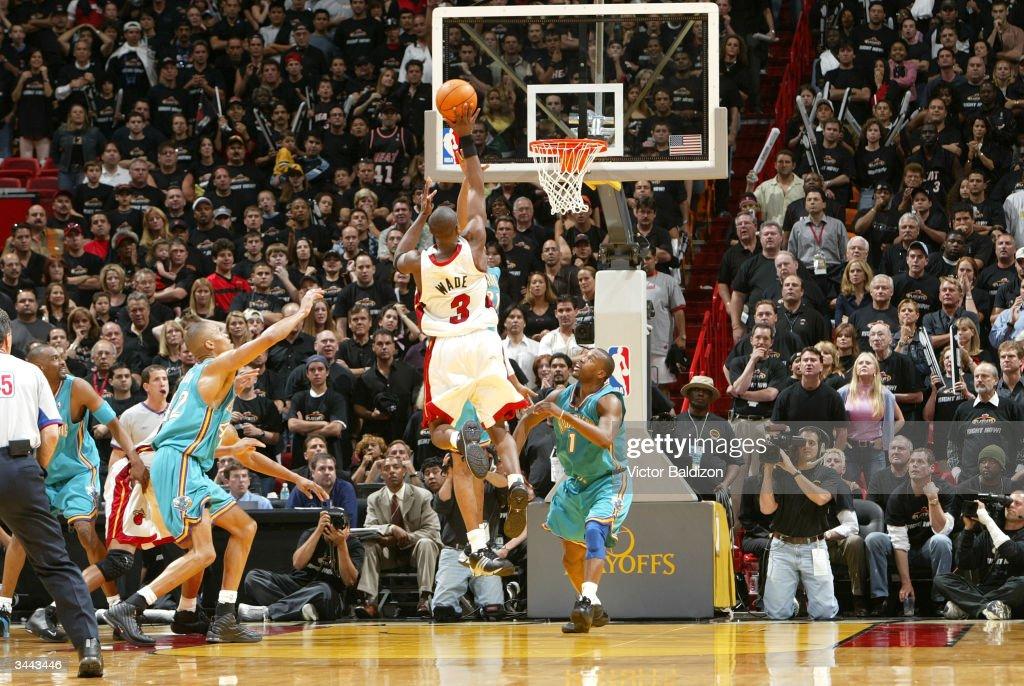 Hornets v Heat : News Photo