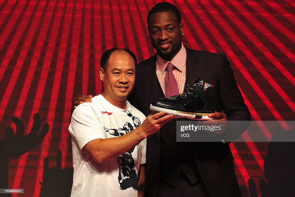 Dwyane Wade Signs Contract With Li Ning