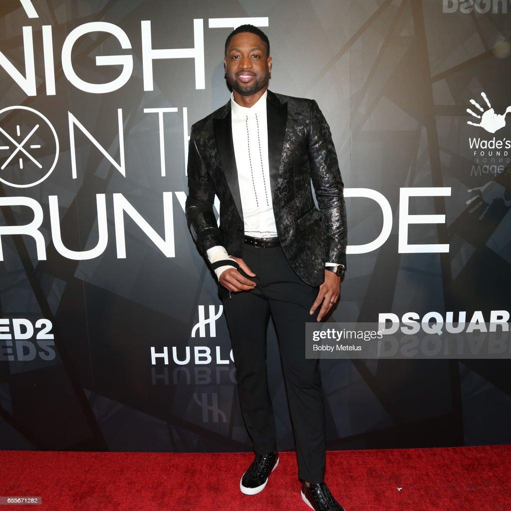 "Dwyane Wade Hosts ""A Night On The RunWade"" : News Photo"