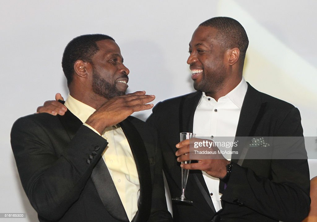 D Wade Jr And Sr Host ProPops Foundations 10th Anniversary Fundraiser : News Photo