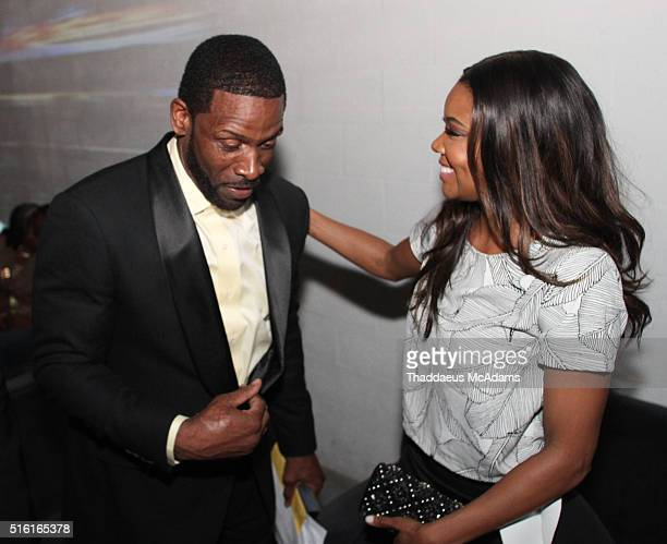 Dwyane Wade Sr and Gabrielle Union attend the ProPops Foundations 10th Anniversary Fundraiser hosted by CEO and founder Dwyane Wade Sr and Dwyane...