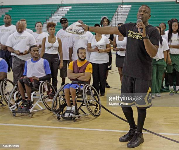 Dwyane Wade Sr attends Propops Foundation Fathers Day Weekend on June 18 2016 in Miami Florida