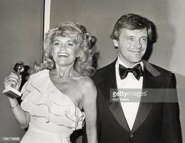 Dyan Cannon and Anthony Hopkins during 36th Annual Golden Globe Awards at Beverly Hilton Hotel in Beverly Hills, California, United States.