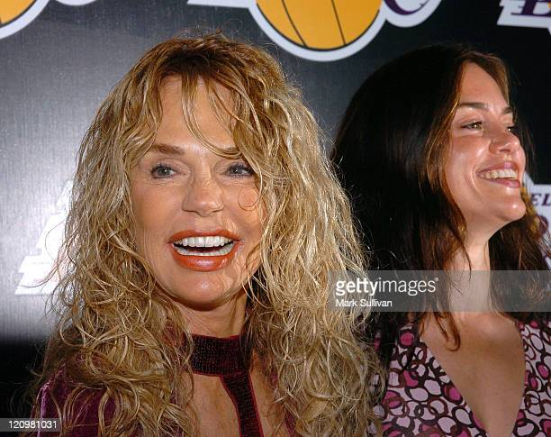 Dyan Cannon and Jennifer Grant during 2nd Annual Lakers Casino Night Benefiting the Lakers Youth Foundation - Arrivals at Barker Hanger in Santa...