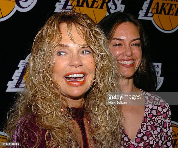 Dyan Cannon and Jennifer Grant during 2nd Annual Lakers Casino Night Benefiting the Lakers Youth Foundation Arrivals at Barker Hanger in Santa Monica...