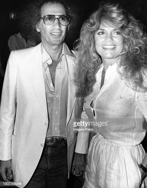 Dyan Cannon and Jerry Schatzberg circa 1980 in New York City