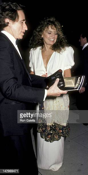 Dyan Cannon and Stanley Fimberg attend American Ballet Theater Performance on March 4 1986 at the Shrine Auditorium in Los Angeles California