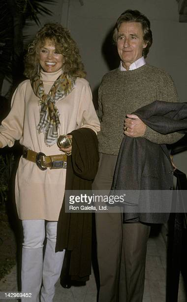 Dyan Cannon and Stanley Fimberg sighted on November 10 1986 at Spago Restaurant in West Hollywood California