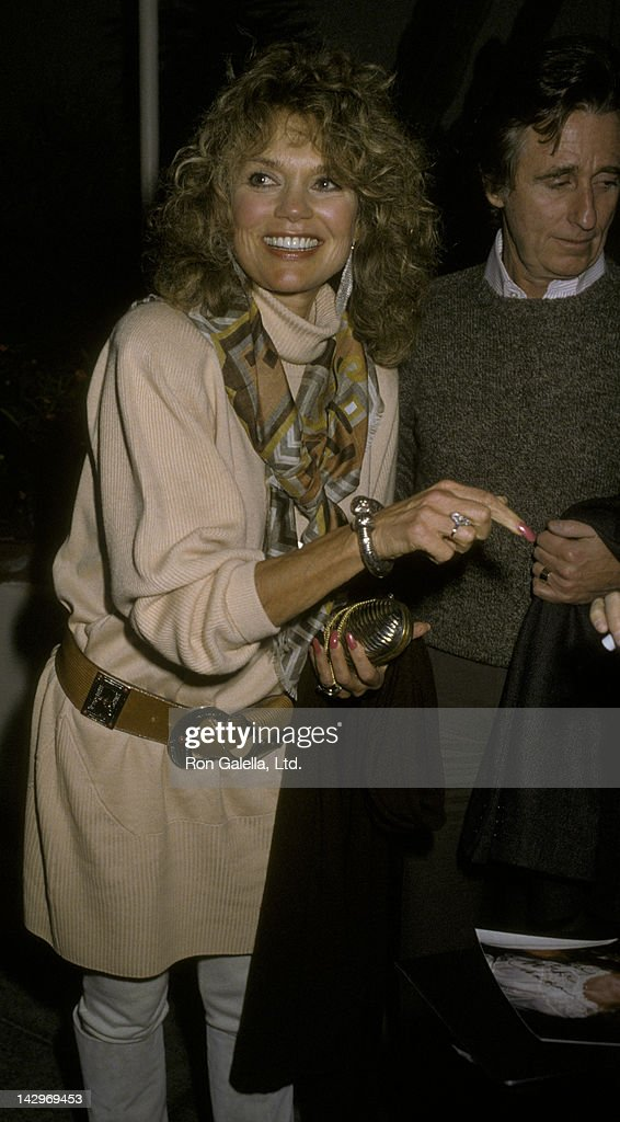 Dyan Cannon Sighted at the Columbus Cafe : News Photo