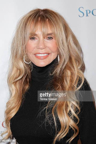 Dyan Cannon attends the Unstoppable Foundation's annual gala at the Hyatt Regency Century Plaza on March 21 2015 in Century City California
