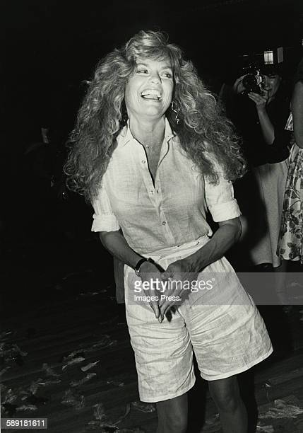Dyan Cannon circa 1980 in New York City.