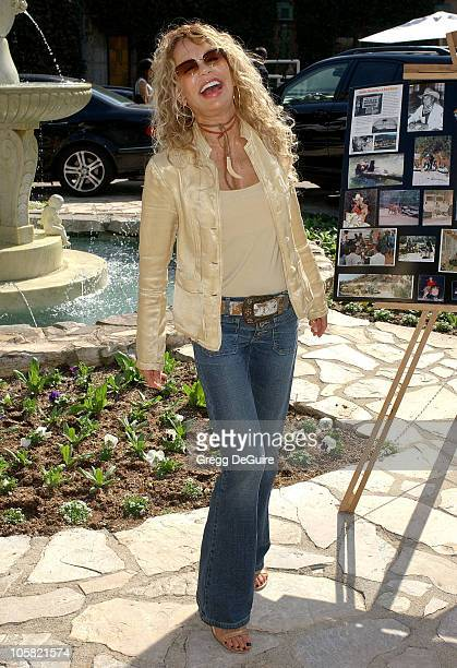 Dyan Cannon during 2006 Safari Brunch Fundraiser For The Wildlife Waystatiion at Playboy Mansion in Los Angeles California United States