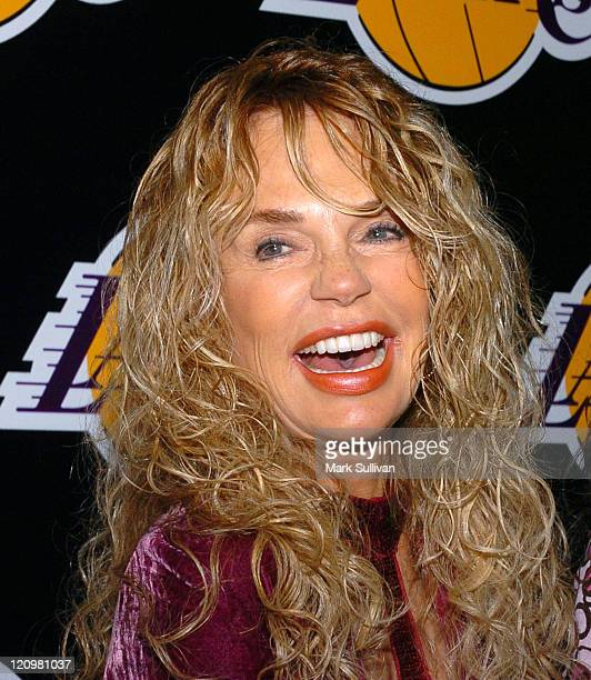 Dyan Cannon during 2nd Annual Lakers Casino Night Benefiting the Lakers Youth Foundation Arrivals at Barker Hanger in Santa Monica California United...