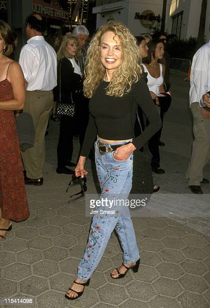 Dyan Cannon during 'American Pie' West Coast Premiere at Cineplex Odeon Universal Studios Cinema in Universal City California United States