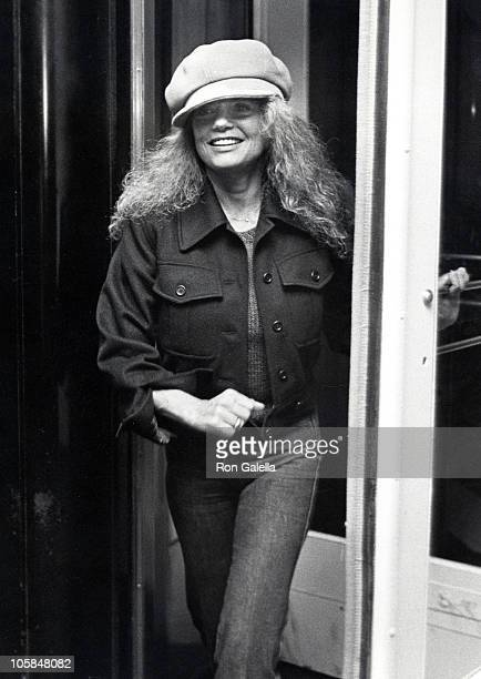 Dyan Cannon during Dyan Cannon Sighting at the Carlyle Hotel in New York City October 22 1981 at Carlyle Hotel in New York City New York United States