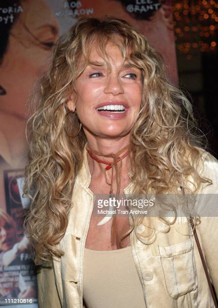 Dyan Cannon during 'Going Shopping ' Los Angeles Premiere Arrivals at Directors Guild of America Theatre in Los Angeles California United States