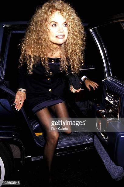 Dyan Cannon during Haimoff Grubman Wedding Reception October 12 1991 at New York Public Library in New York City New York United States