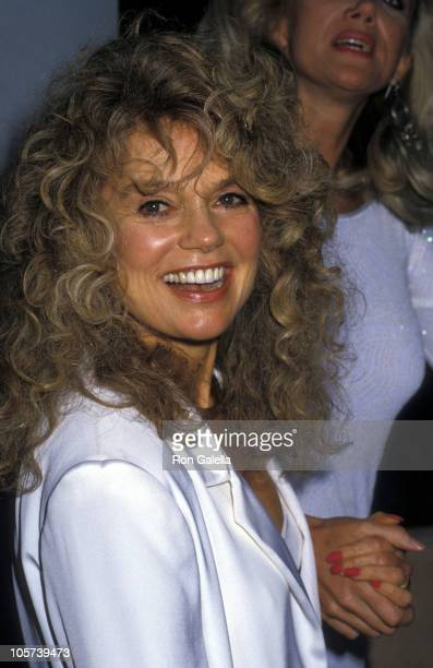 Dyan Cannon during Sally Kirkland's Party for Oscar Nominations - April 8, 1988 in Beverly Hills, California, United States.