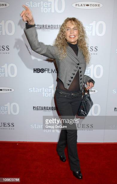 Dyan Cannon during Starter For 10 Los Angeles Premiere Arrivals at ArcLight Hollywood in Hollywood California United States