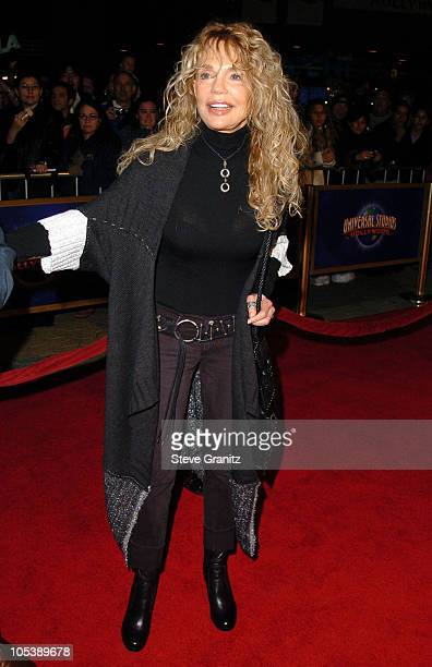 Dyan Cannon during The Wedding Date Los Angeles Premiere Arrivals at Universal Studios Cinemas in Universal City California United States