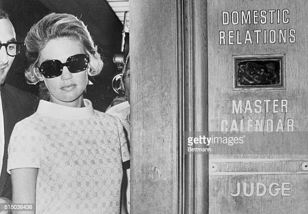 Dyan Cannon estranged wife of actor Cary Grant appears in Domestic Relations court 9/12 to seek temporary support from Grant pending her upcoming...