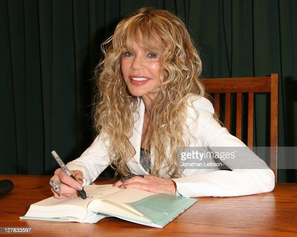 Dyan Cannon signs copies of her new book 'Dear Cary' at Vroman's Bookstore on September 30 2011 in Pasadena California
