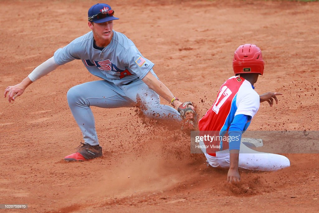 USA v Cuba - WBSC U-15 World Cup Super Round