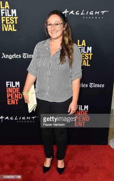 Dyana Winkler attends the 2018 LA Film Festival Opening Night Premiere Of 'Echo In The Canyon' at John Anson Ford Amphitheatre on September 20 2018...