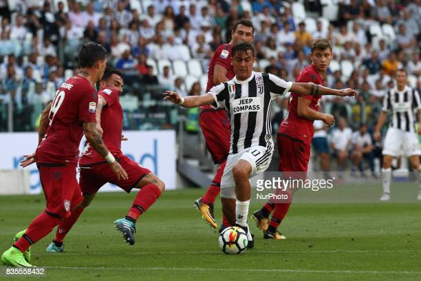 Dybala in action during the Serie A football match n1 JUVENTUS CAGLIARI on at the Allianz Stadium in Turin Italy