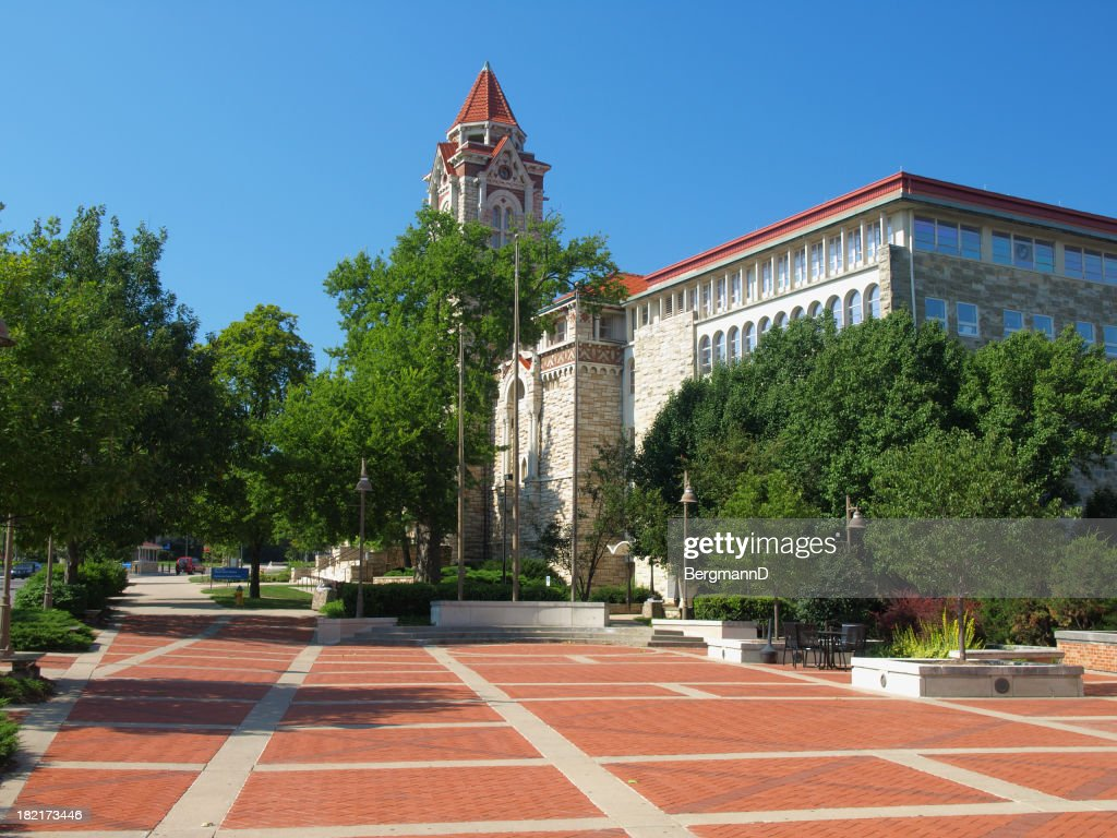 Dyche Hall Museum of Natural History : Stock Photo