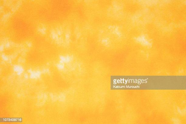 dye yellow paper texture background - washi paper stock pictures, royalty-free photos & images