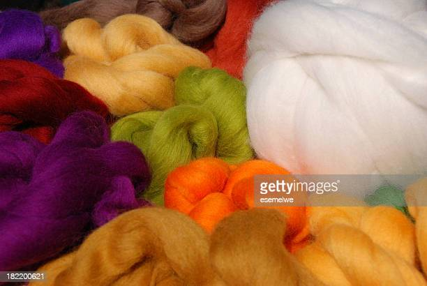 dyed new wool