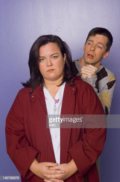WILL GRACE 'Dyeing Is Easy Comedy Is Hard' Episode 14 Pictured Rosie O'Donnell as Bonnie Sean Hayes as Jack McFarland Photo by Chris Haston/NBCU...
