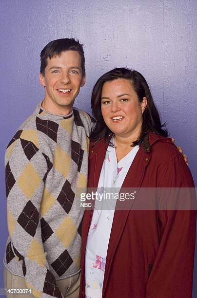 WILL GRACE Dyeing Is Easy Comedy Is Hard Episode 14 Pictured Sean Hayes as Jack McFarland Rosie O'Donnell as Bonnie Photo by Chris Haston/NBCU Photo...