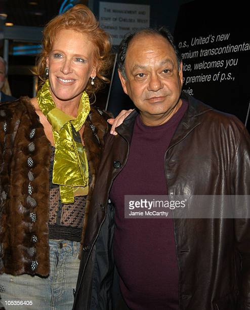 CC Dyer and Cheech Marin during ps New York Premiere at Clearview Chelsea West in New York City New York United States