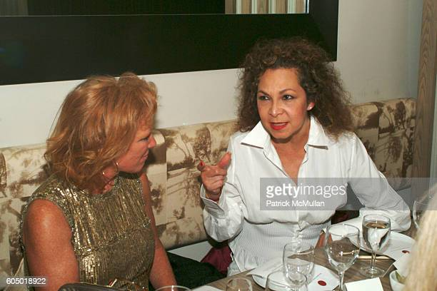Dyer and Helen Arden attend MALO VIP Dinner at Bond Street on September 12 2006 in New York City