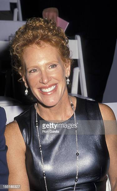 CC Dyer attends Escada SpringSummer Collection Fashion Show on September 12 2000 at Pier 72 in New York City