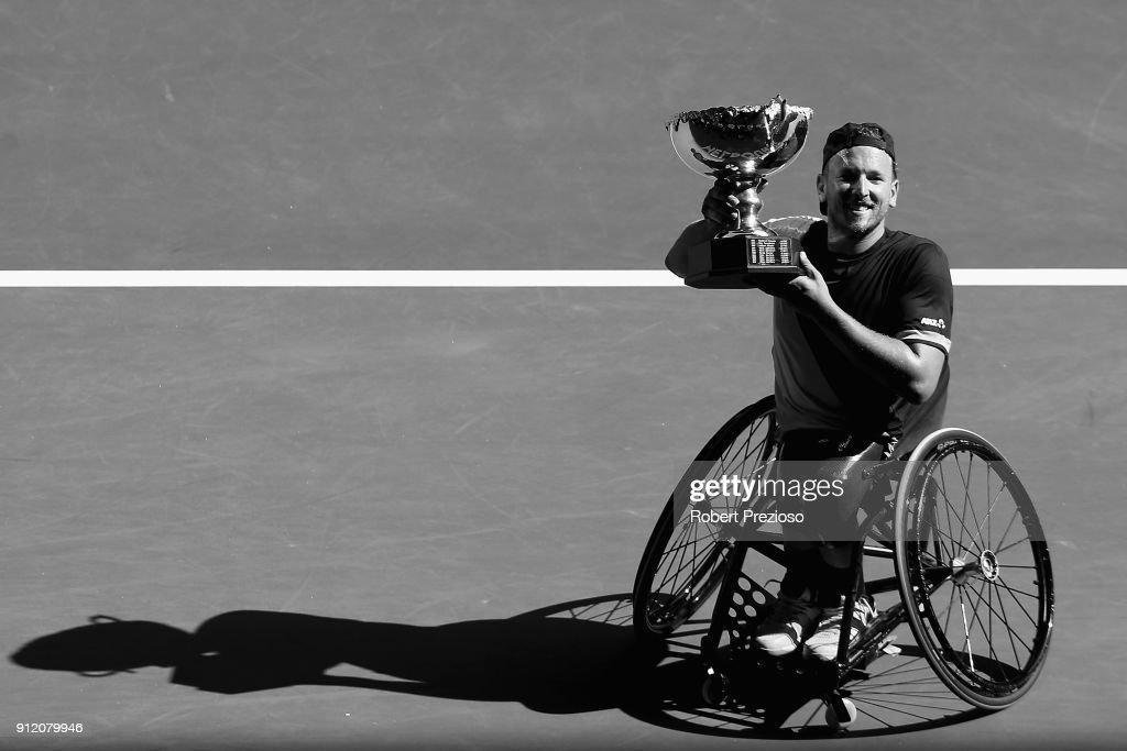 Dylan Alcott's 2018 Australian Open