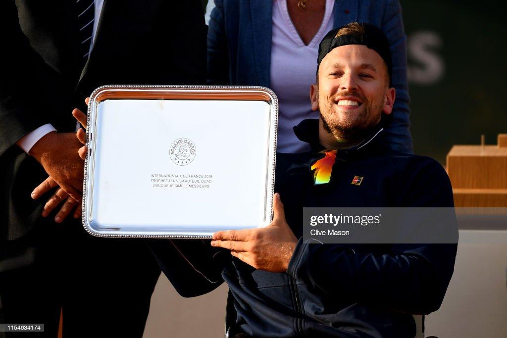 2019 French Open - Day Fourteen : Nachrichtenfoto