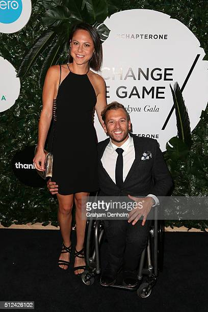 Dylan Alcott poses as he arrives for Change The Game A Thankyou Gala on February 26 2016 in Melbourne Australia