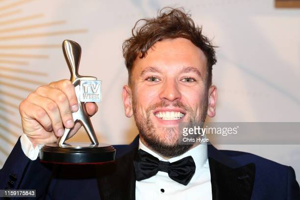 Dylan Alcott poses with the Graham Kennedy Award for Most Popular New Talent during the 61st Annual TV WEEK Logie Awards at The Star Gold Coast on...