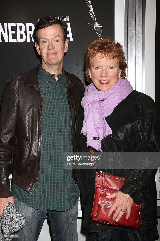 Dylan Baker and Becky Ann Baker attend the 'Nebraska' screening at Paris Theater on November 6, 2013 in New York City.