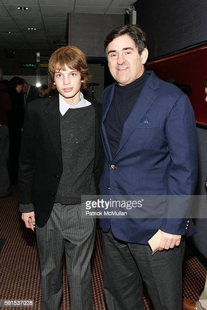 Dylan Brant and Peter Brant attend Private Screening of Syriana at Cinema 123 Followed by Dinner at the Home of Steven and Heather Mnuchin at Cinema...