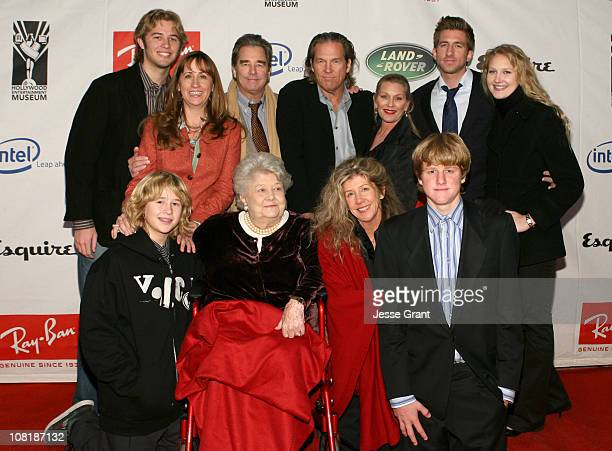 Dylan Bridges Beau Bridges Jeff Bridges Susan Geston Marcel Lloyd Hayley Bridges Zeke Bridges Wendy Bridges Dorothy Bridges Lucinda Bridges and...