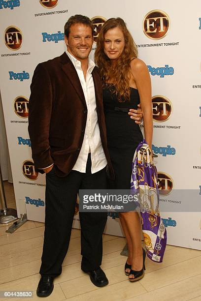 Dylan Bruno and Emmeli Bruno attend Entertainment Tonight and People Magazine Hosts Annual Emmy After Party at Mondrian on August 27, 2006.