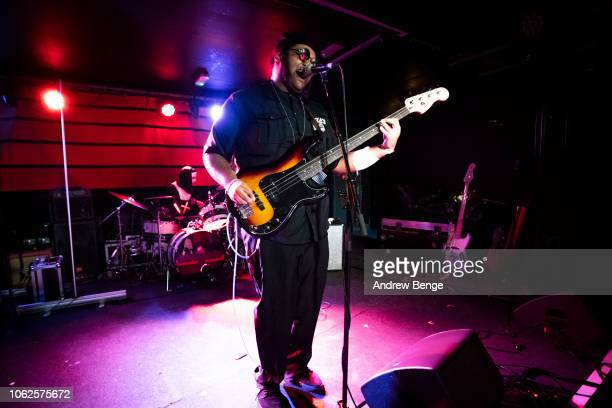 Dylan Cartlidge performs live at The Wardrobe on October 31 2018 in Leeds England