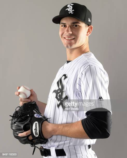 Dylan Cease of the Chicago White Sox poses for a portrait during photo day on February 21 2018 at Camelback Ranch in Glendale Arizona Dylan Cease