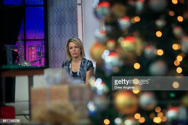Dylan Dreyer looks on before starting a segment on the set of NBC's Today Show November 29 2017 in New York City It was announced on Wednesday...